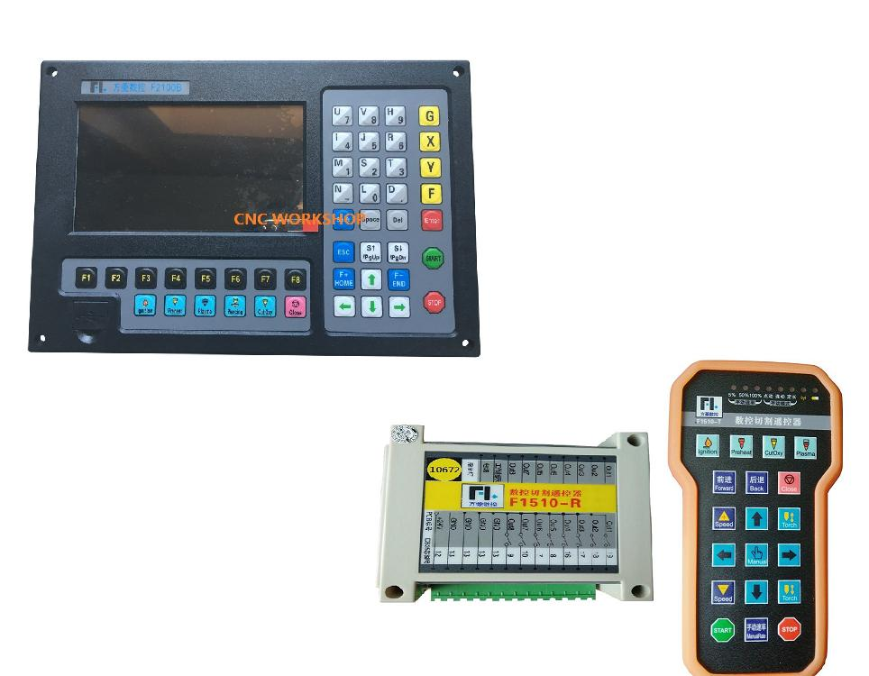 ₪Plasma cutting CNC controller for Fangling F2100 with