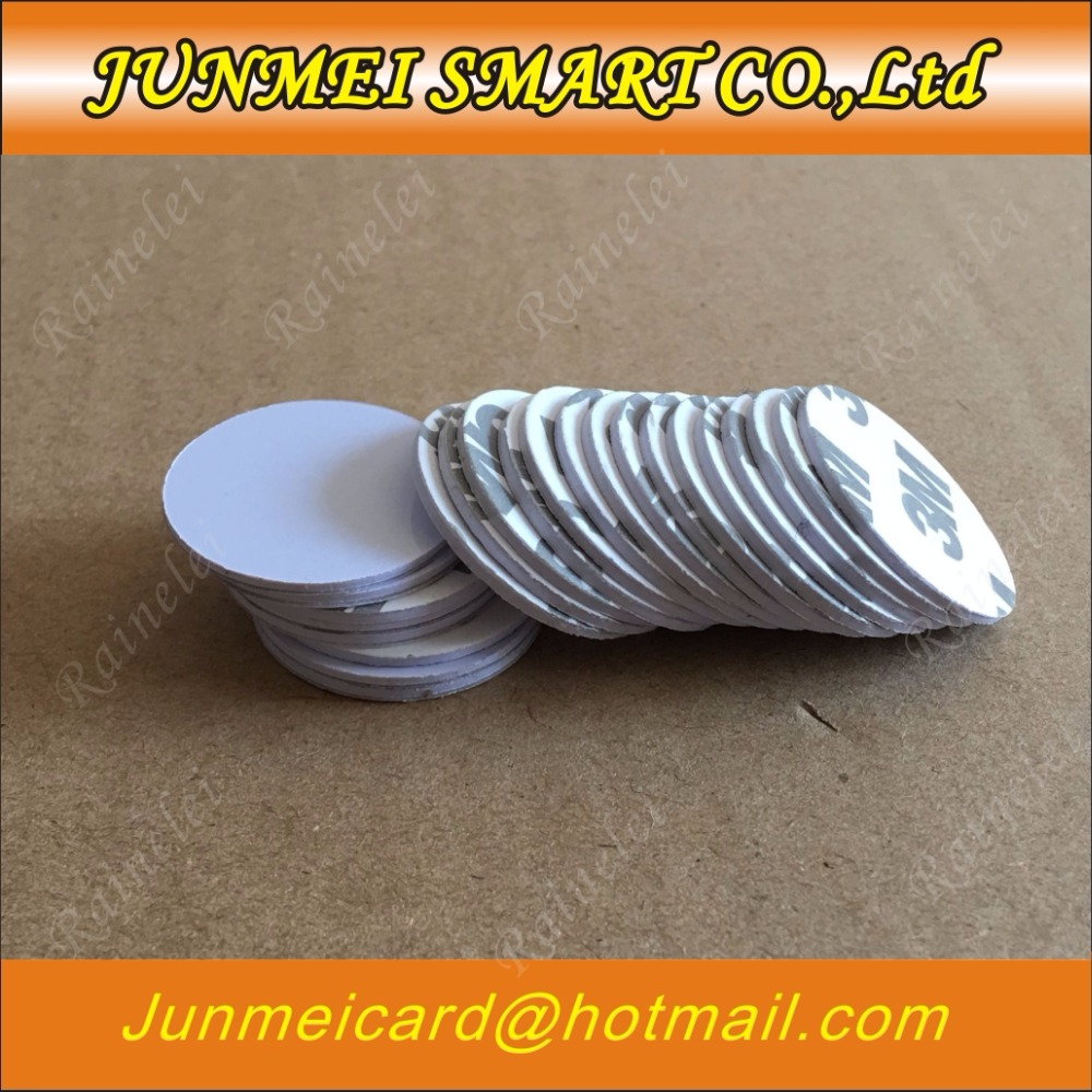 10PCS TK4100(EM4100) RFID 125khz 3M Stickers Coins 25mm 18mm.20mm,30mm Smart Tags Read-only Access Control Cards(China)