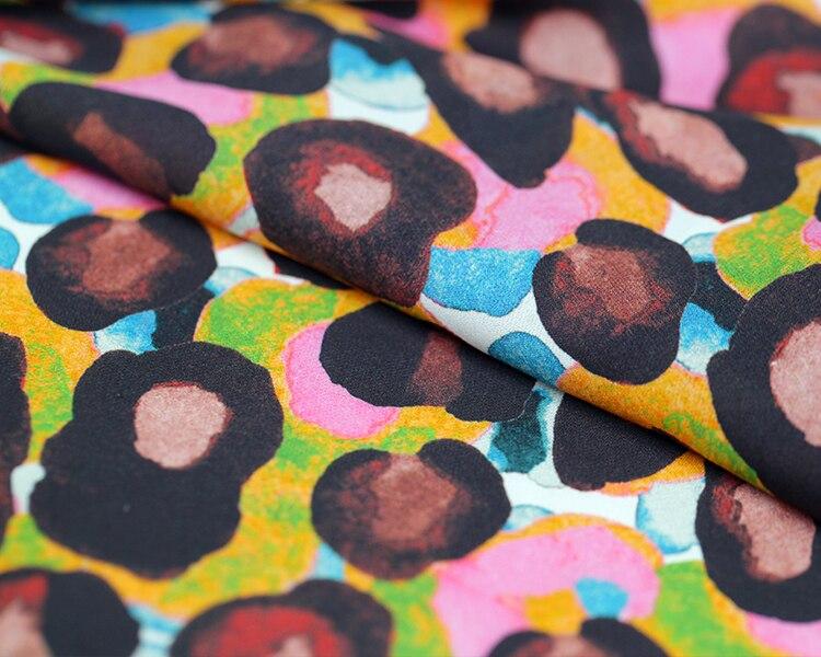 Tiskana svilena tkanina grafiti haljina svilena tkanina po mjeri - Umjetnost, obrt i šivanje - Foto 4