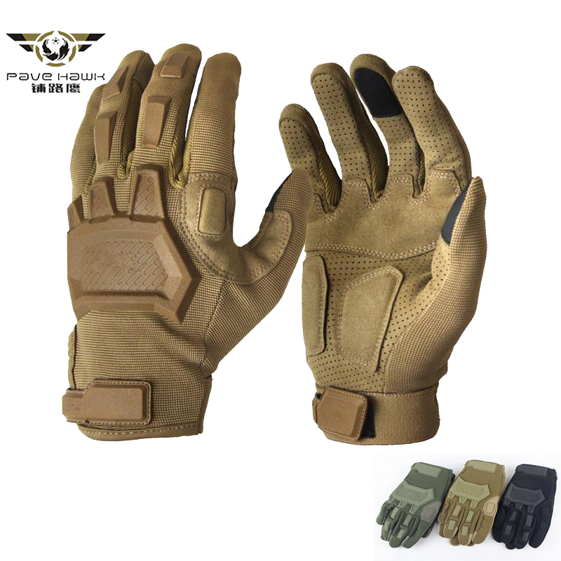 Airsoft Paintball Military Gloves Men Army Special Forces Antiskid Bicycle Full Finger Gym Gloves Tactical Touch Screen Gloves