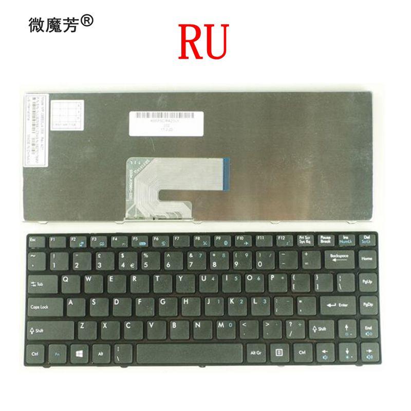 Russian laptop keyboard For MSI CR420 CR400 X350 EX465 CX420 CR420 X370 CR460 RU
