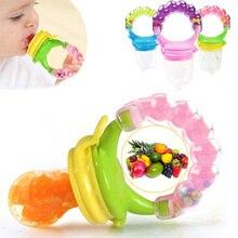 1 piezas comida fresca Nibbler chupetes bebé de Niños de fruta de los pezones de alimentación seguro suministros de bebé pezón chupete botellas