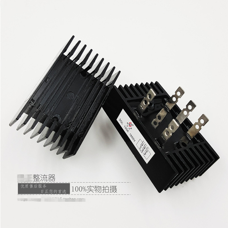 цена на SQL silicon Three 3 phase Bridge Rectifier 100A, 1000V or 100A 1600V 2pcs in pack