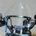 Motorcycle Clear Windscreen Windshield For Harley Dyna Sportster Road King Yamaha Suzuki Honda Free Shipping
