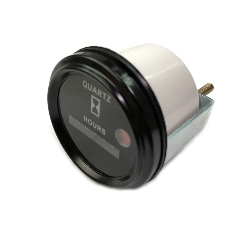 DC 12-36V Round Mechanical Hourmeter Hour Meter Counter Timer Auto Car Boat Generator Diesel Gasolin Petrol Engine цена