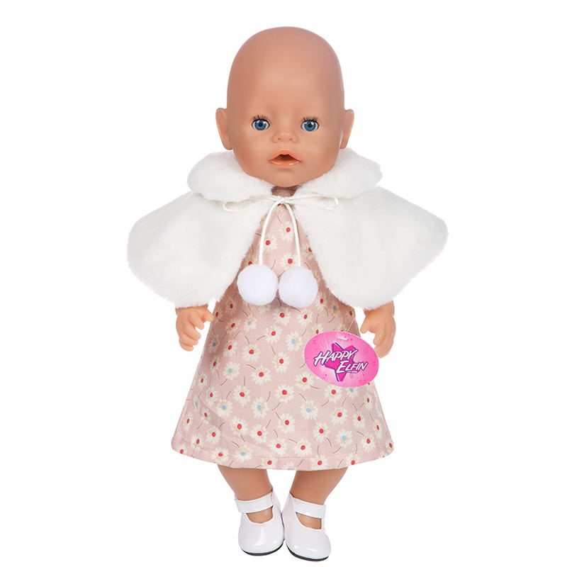 Doll Suits For 43cm  Baby Doll Doll Reborn Baby Clothes 17inch Doll Accessories