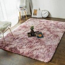Новый галстук-окрашивание цвета коврик для ванной комнаты декоративные ковры индивидуальные размеры коврик для ванной плюшевые коврики для туалета комнаты коврики