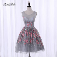 Modabelle Juniors Cute Short Prom Dresses For Homecoming 2017 Under 100 Vestidos De Coctel Floral Gray