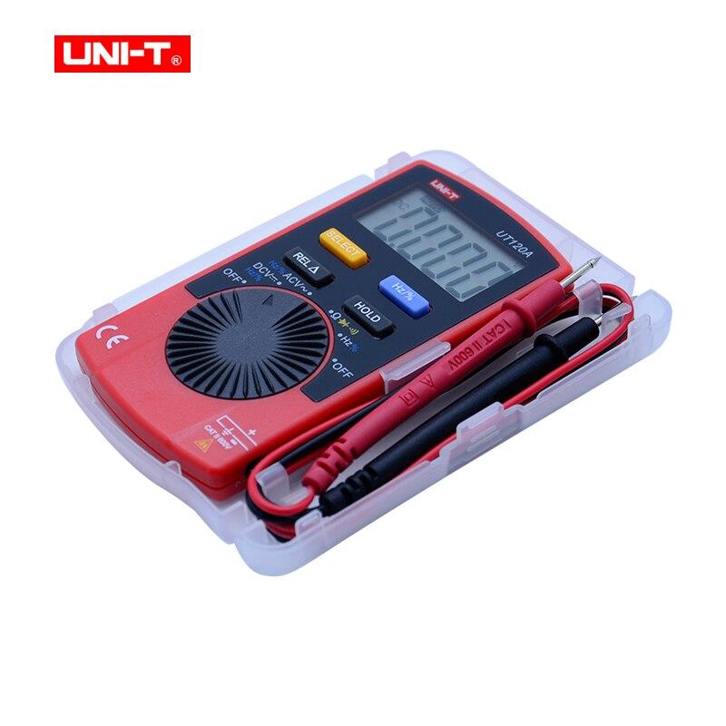Mini Digital Multimeter UNI-T UT120 series Digital LCD Palm Size Auto Range Multimeter DC AC Pocket
