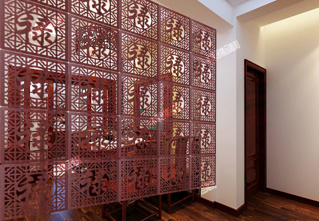 Aliexpresscom Buy Wooden room dividers hanging room divider