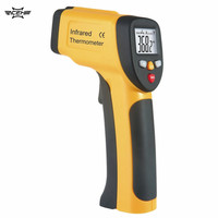 2017 Hot Sale LCD Display IR Infrared Thermometer -50 To 650 Degree Celsius Auto Temperature Meter Sensor HT-816 Handheld