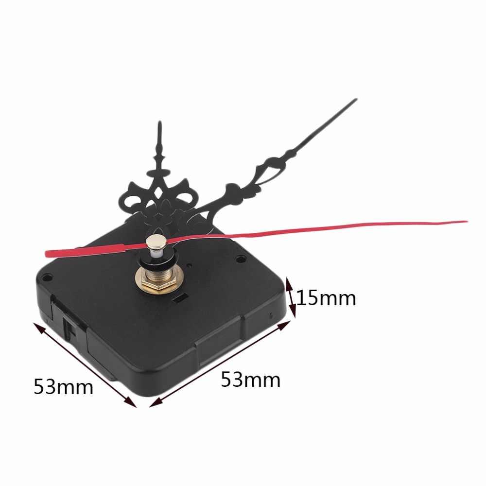 Mecanismo de reloj profesional mecanismo de reloj de pared de cuarzo práctico mecanismo de reloj de movimiento DIY herramienta de reparación piezas Kit de manos azules