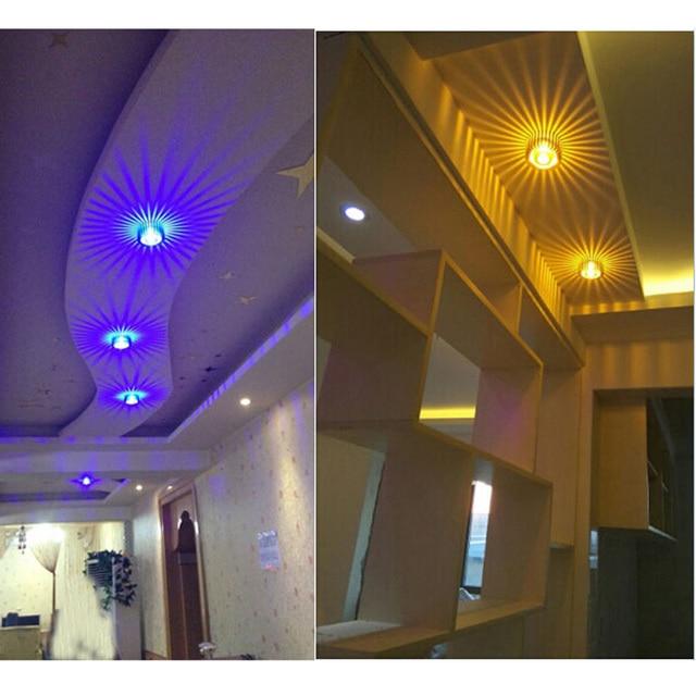 Moderne 3 w LED Plafonnier Pour La Maison Salon Chambre Restaurant