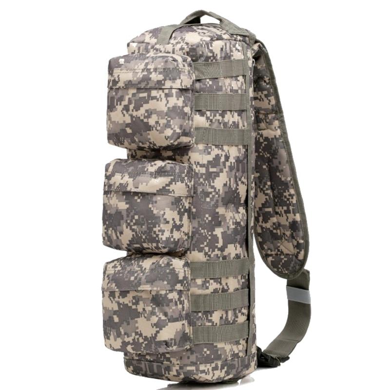 Outdoor Sports Assault Sling Bag Tactical Hunting Camping Molle Backpack Hiking Shoulder Bag Messenger sling bag