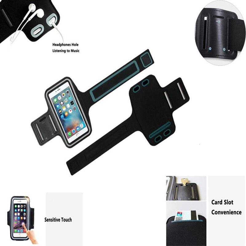 For Huawei Samsung Sport Arm Band Case Բջջային հեռախոս - Բջջային հեռախոսի պարագաներ և պահեստամասեր - Լուսանկար 5