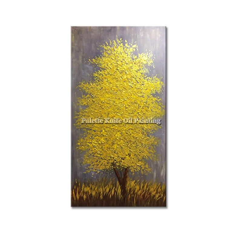 Obraz olejny na płótnie cuadros decoracion szpachla 3D tekstura - Wystrój domu - Zdjęcie 5