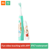 Soocas C1 Sonic Electric Toothbrush for Children Waterproof Cute Cartoon Kids Electric Tooth Brush Rechargeable Dental Care