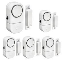 Домашняя охранная сигнализация, автономные магнитные датчики, независимая беспроводная домашняя дверь, окно, входная охранная сигнализация, охранная сигнализация
