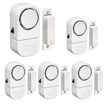 홈 안전 경보 시스템 독립형 자기 센서 독립적 인 무선 홈 도어 창 항목 도난 경보 보안 경보