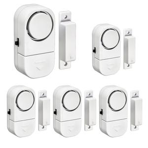 Image 1 - Home Sicherheit Alarm System Alone Magnetische Sensoren Unabhängige Wireless Home Tür Fenster Entry Alarmanlage Sicherheit Alarm