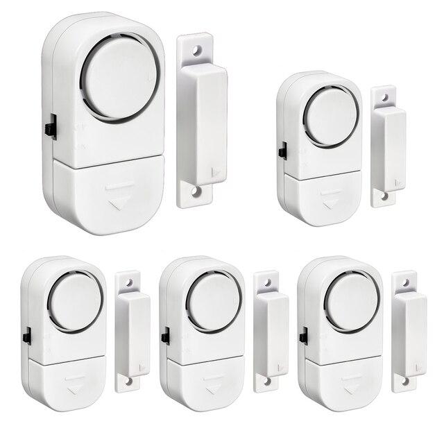 Home Sicherheit Alarm System Alone Magnetische Sensoren Unabhängige Wireless Home Tür Fenster Entry Alarmanlage Sicherheit Alarm
