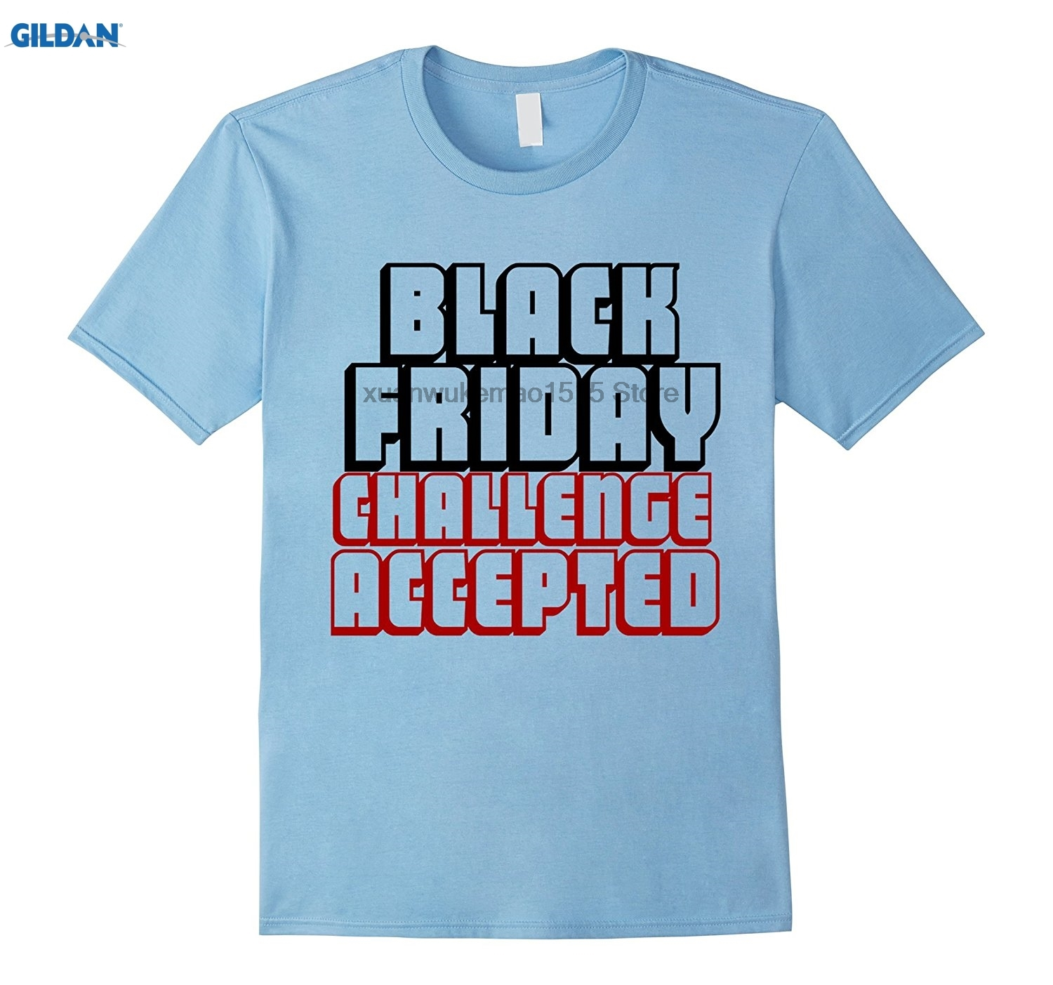 GILDAN Black Friday Challenge Accepted T-Shirt