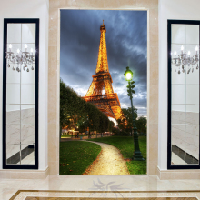 Large mural European 3D wallpaper for living room entrance, corridors background