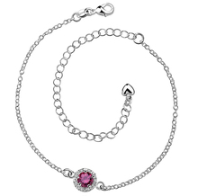 Fashion Women Leg Bracelets Foot Chains Feet Bangles Jewelry Silver Plated  Round Gem Crystal Zircon Wedding Colorful Anklets