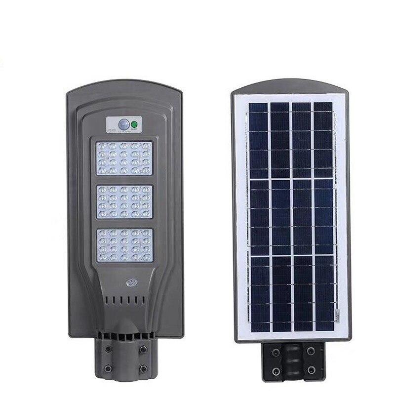 60 W 40 W 20 W LED capteur solaire lumière lampe extérieure murale à LED réverbère économiseur d'énergie chemin maison jardin étanche