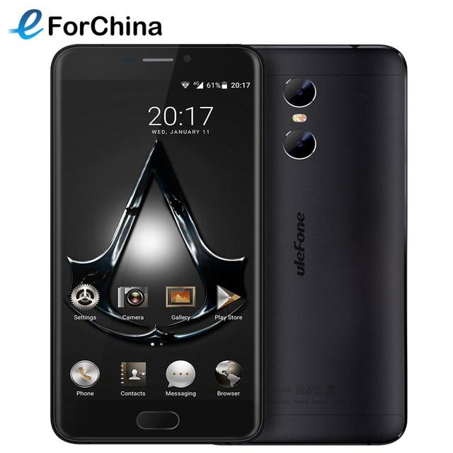 Ulefone Gemini 4G Phone 32GB ROM 5.5 inch Screen Andriod 6.0 MT6737T Quad Core 1.5GHz 3GB RAM LTE Smartphone 13MP OTG 3 Cameras