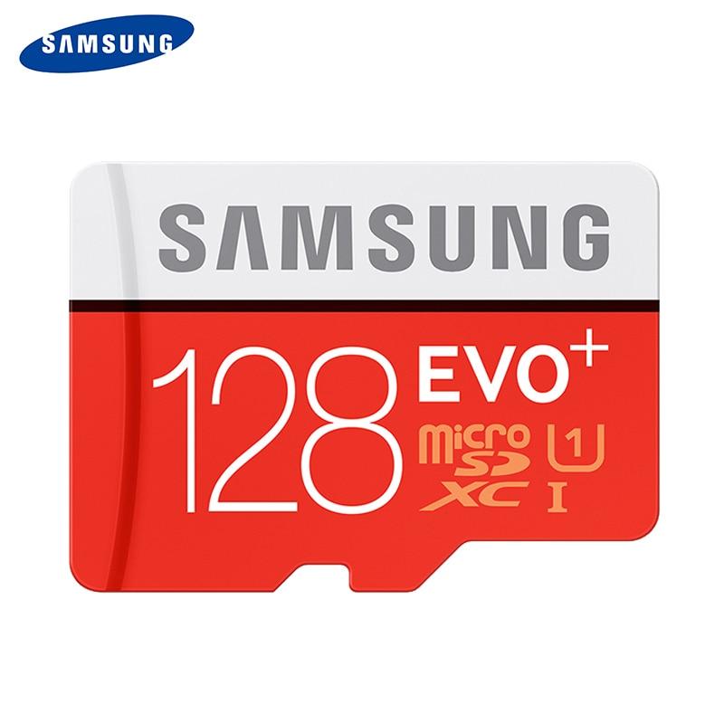 SAMSUNG 100% Original TF Micro SD Card memory Card MicroSD EVO Plus Class 10 Grade 3 128GB
