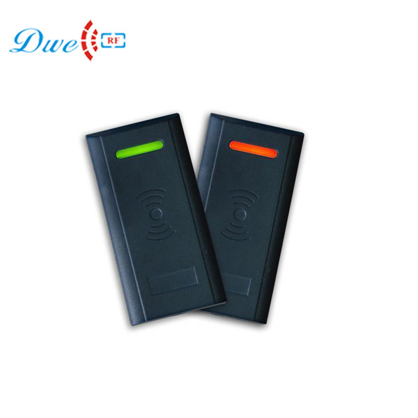 DWE CC RF access control card reader EMID rfid reader mini black plastic gate proximity reader rfid 125 khz rfid readers dwe cc rf rfid gate reader 13 56mhz 12v black water proof access control card readers with wiegand 34