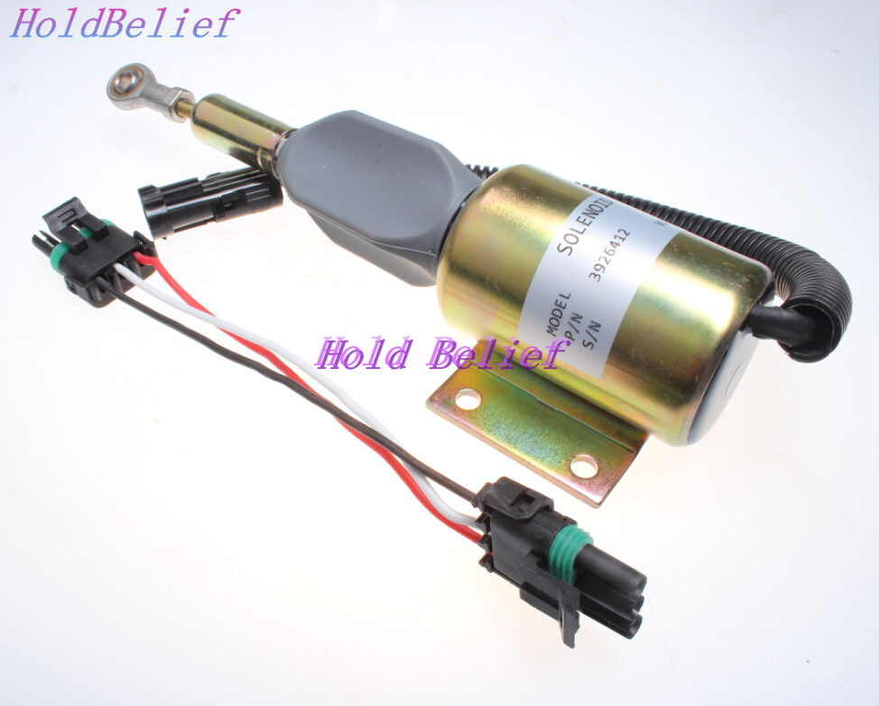 US $38 0 |Fuel Injection Pump Shut Off Solenoid Spare Part RE516083 For  John Deere 200LC 120 230LC 270LC 160LC 230LCR-in Valves & Parts from