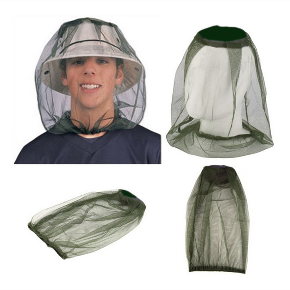 Outdoor Camping Hiking Midge Mosquito Insect Hat Bug Mesh Head Net Face Protector for Travel Face Protector Tourism KitOutdoor Camping Hiking Midge Mosquito Insect Hat Bug Mesh Head Net Face Protector for Travel Face Protector Tourism Kit