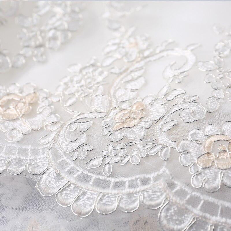 AnXin SH Handmade flowers wedding dress graceful curves, luxury art, fishtail tail wedding dress bridal lace wedding dress 9716