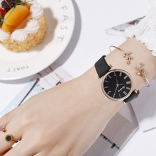 Reloj Mujer Fashion Women Leather Quartz Wrist Watch Saat Watches Womens Watches Roman Numeral Designer Relogio Feminino цены онлайн