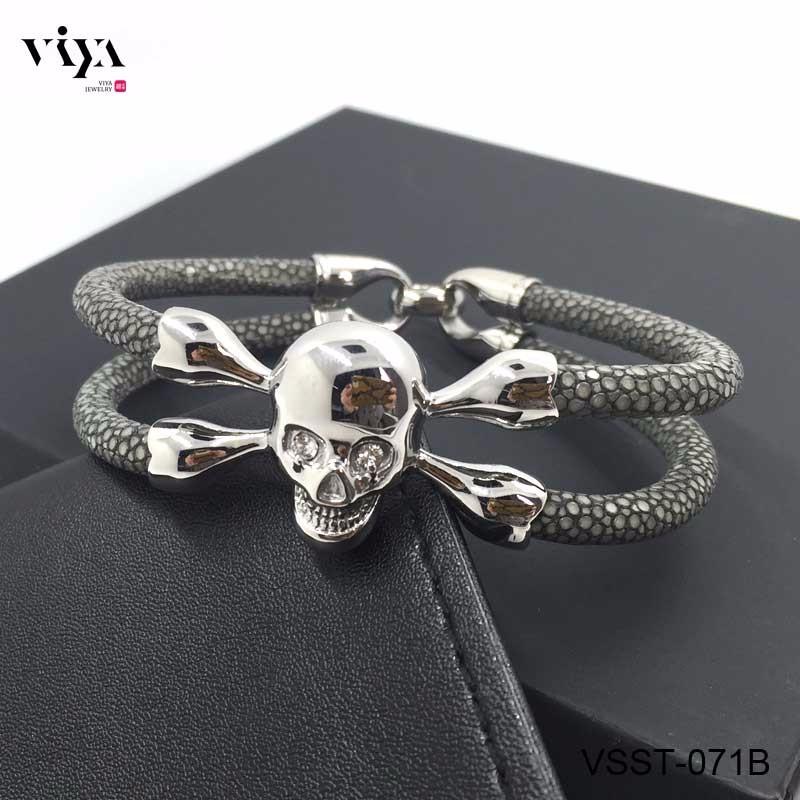 grey-stingray-leather-bracelets--for-men-(8)