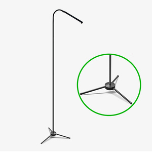 Image 5 - F9 Modern Touch LED Standing Floor Lamp Reading for Living Room Bedroom with Remote Control 12 Levels Dimmable 3000 6000K Black