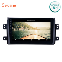 Seicane 9 inch Android 7.1/8.1 Car Radio GPS Stereo Unit Player for 2006 2007 2008 2009 2010 2011 2012 Suzuki SX4 with Quad Core