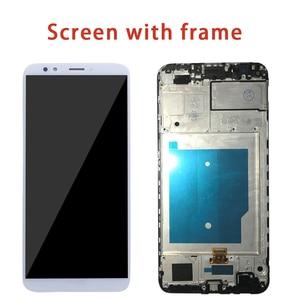 Image 2 - Per HUAWEI Y7 2018 Display LCD Dello Schermo di Tocco Per Huawei Y7 Pro 2018 LCD Con Cornice Y7 Prime 2018 LND l22 LX2 L21 L23 LX1 L29