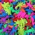 10 UNIDS de Silicona Animal En Crecimiento Juguetes Novedad Juguetes Para Bebés de Juguete de Expansión de Agua Agua de La Novedad Animal Muñecas Chirist Regalo Juguetes XQ15