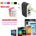 BrankBass Plugue DA UE 3 Portas USB Parede Início de Viagem AC Carregador Adaptador para iphone 5s 6 6lus/galaxy s3 s4 note 3 n9000 telefone android