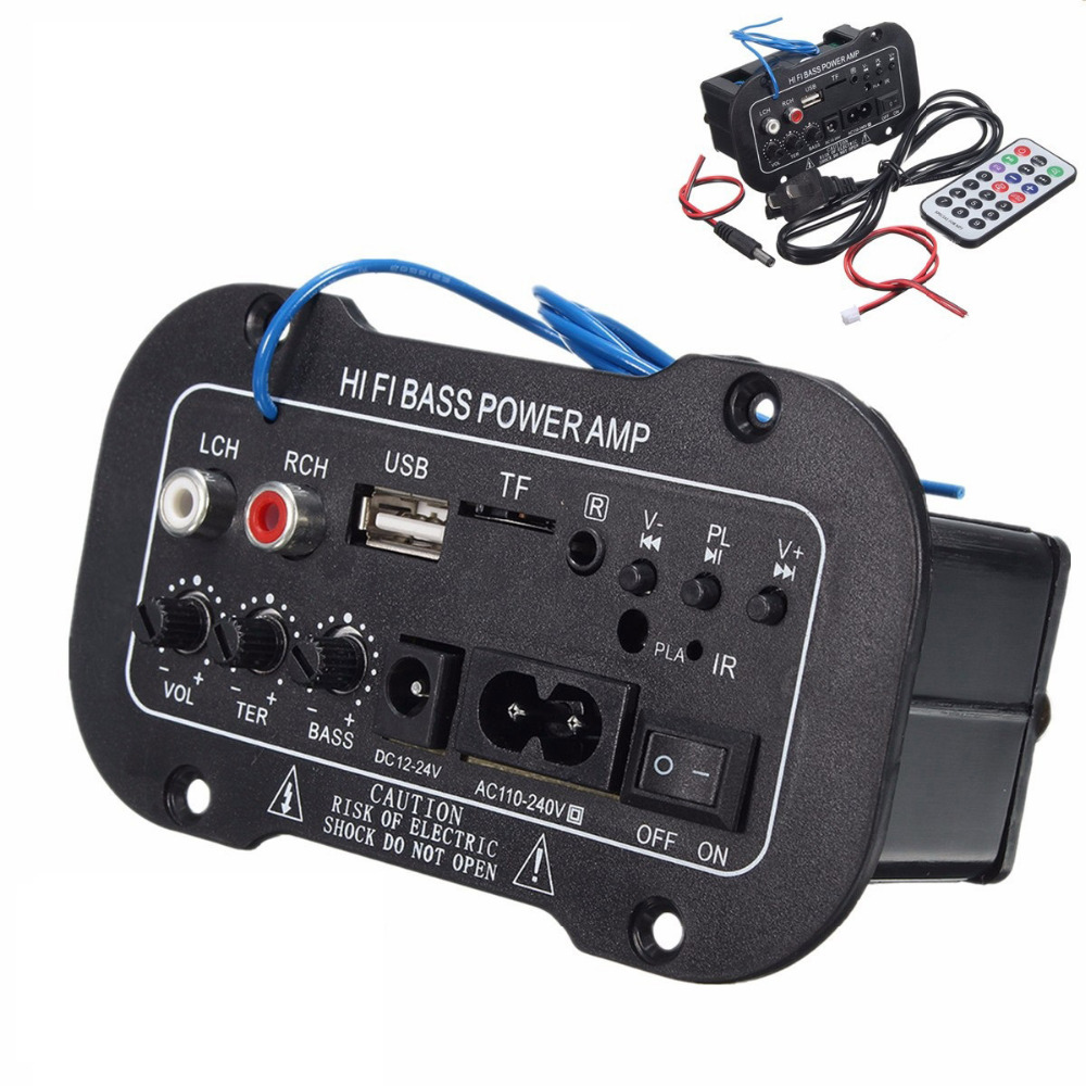 Digitale Bluetooth Verstärker 220 V 2,1 Hallo-fi Bass Power Amp Mini Auto Auto Verstärker Stereo Radio Auto Styling