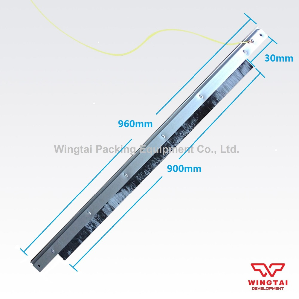 Effective Length 900mm Itlay Aluminium Alloy Carbon Fiber  ESD brush