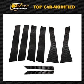 Free Shipping Carbon Fiber B Pillar With Soft Resin For Porsche macan