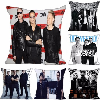 Custom Decorative Pillowcase Depeche Mode Anton Square Zippered Pillow Cover 35X35,40x40,45x45cm(One Side)80527-21-01