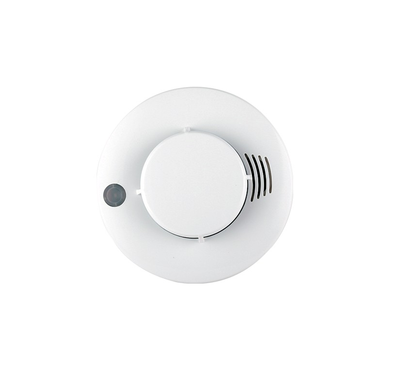 JA-5198A Direct Factory Wired Net-working Smoke Detector Photoelectric Sensor Sound and Light Alarm Manual Testing photoelectric sensors gos 10c leveling sensor factory