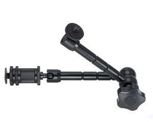 Image 3 - 11Inch Adjustable Friction Articulating  Magic Arm+ Super Clamp for DSLR Rig LCD Monitor LED Flash Light Camera Accessories