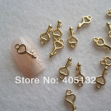 MP-09 3D 50 pz/borsa Metallo Piccoli Pendenti Gioielli Accessori Nail Art Deco Charms In Metallo(China)