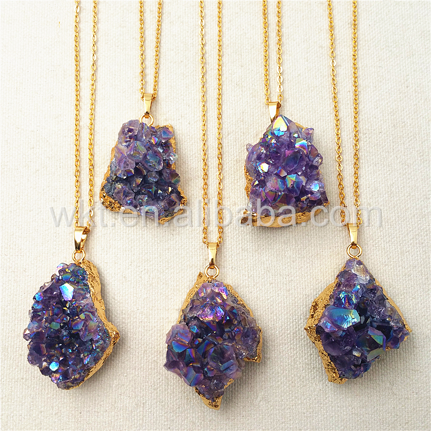 pendant crystal jewelry fullxfull naxd amethyst electroformed raw il products necklace mineral